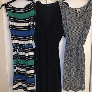 Lot of THREE (3) Work-Appropriate Dresses